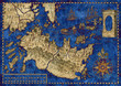Map of the fantasy world 4