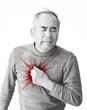 心臓発作のイメージ