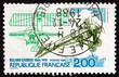 Postage stamp France 1988 Roland Gaross, Pilot