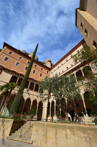 The Benedictine monastery of Montserrat .