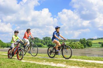 gemeinsame Radtour im Frühling