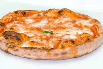 Pizza tagliata margherita