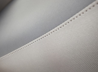 black and white sewing leather texture