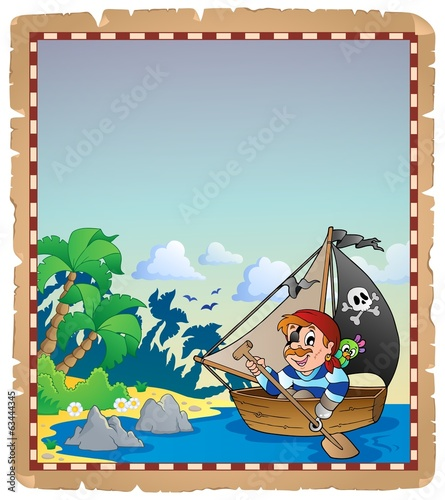 Pirate theme parchment 6