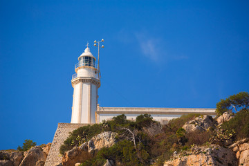 Javea Cabo la Nao Lighthouse Mediterranean Spain
