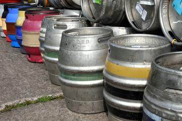 Aluminium Beer Barrels