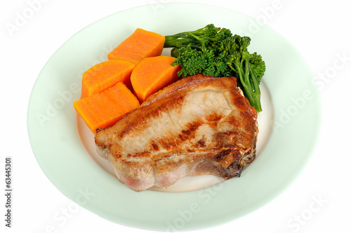 Pork Chop with Vegetables