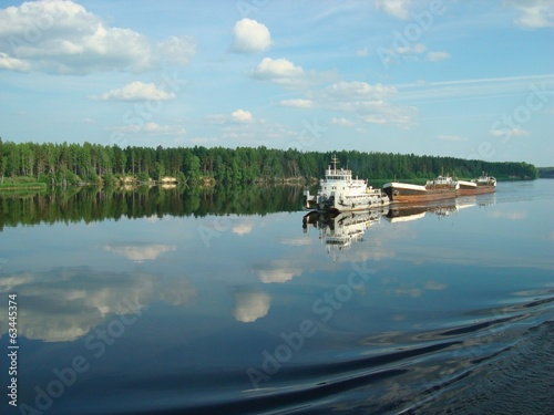 Volga River traffic
