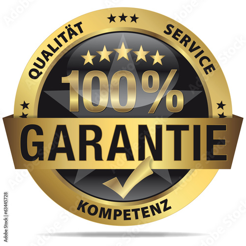 100% Garantie - Qualität, Service, Kompetenz