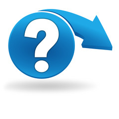 question sur bouton bleu