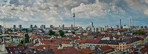 Berlin - panorama city view