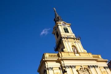 Theresa City Parish Church in Budapest.