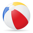 beach ball vector illustration - 63447925