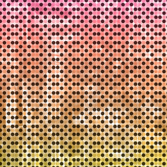 dots background with colors
