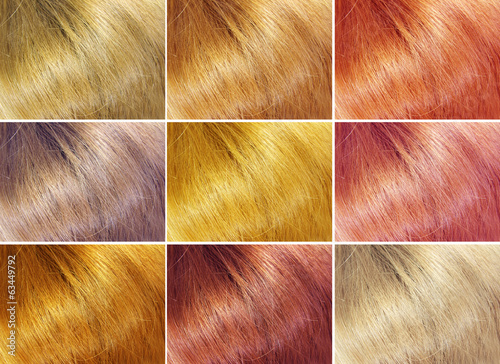 hair abstract texture background collage