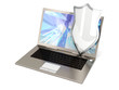 Sicherer Laptop