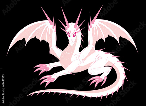 Dragon albino