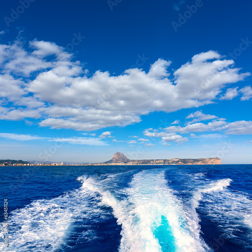 javea with mongo and san antonio cape from boat