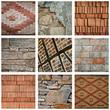 composition briques et pierre