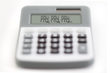 pay, pay, pay
