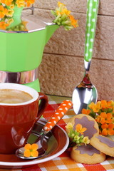 Caffè e pasticcini