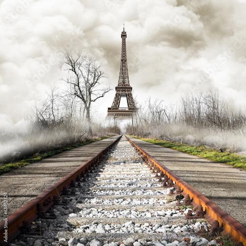 Parigi in treno vintage - 63452324