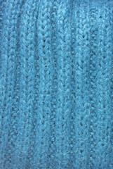 blue mohair texture background