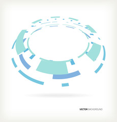 Vector abstract background lines