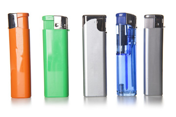 Colorful lighters