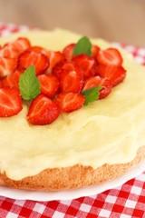 Ciasto z kremem