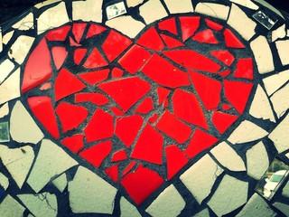 Cuore il mosaico