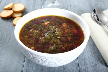 zuppa di verdure loboda pianta