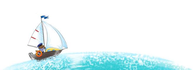 Yacht, regatta.