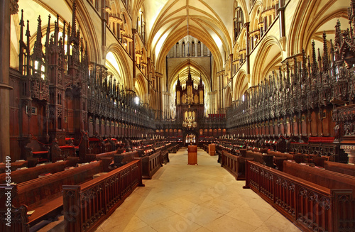 Lincoln Cathedral Choir Stalls