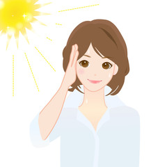 紫外線対策 UVケア 夏向け 女性