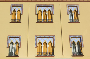 Window in Arabian style.