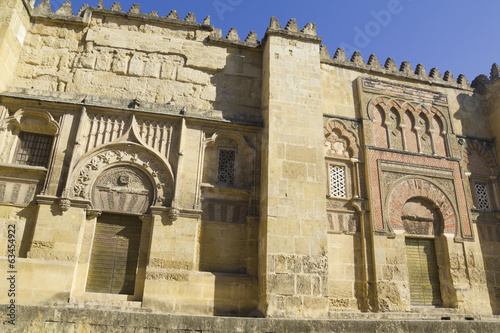 The Great Mosque in Cordoba, Spain.