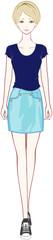 ファッション ミニスカート