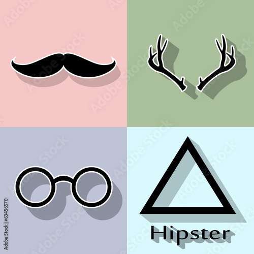 mustache background © eva's place