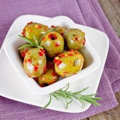 pikante oliven