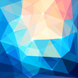 Abstract colorful triangles vector background