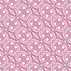 purple and beige floral pattern with swirls