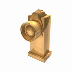 Gold award 3d