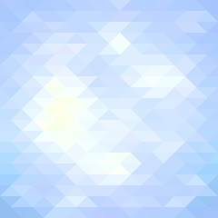 Blue geometric background. Vector illustration.