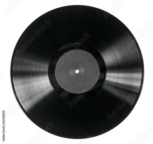 Leinwanddruck Bild Vinyl disc