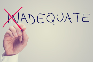 Concept of Inadequate versus Adequate