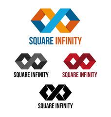 Square infinity