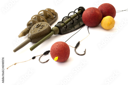 hooks, sinkers and baits for carp fishing