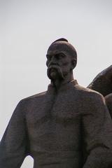 Kiev: dettaglio del museo all'aperto della Grande guerra patriot