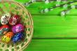 wiosenne pisanki i bazie
